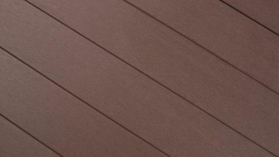 WPC kerítés elem gondozásmentes kerítésléc csokoládé barna színben